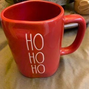 Rae Dunn Ho Ho Ho Christmas mug